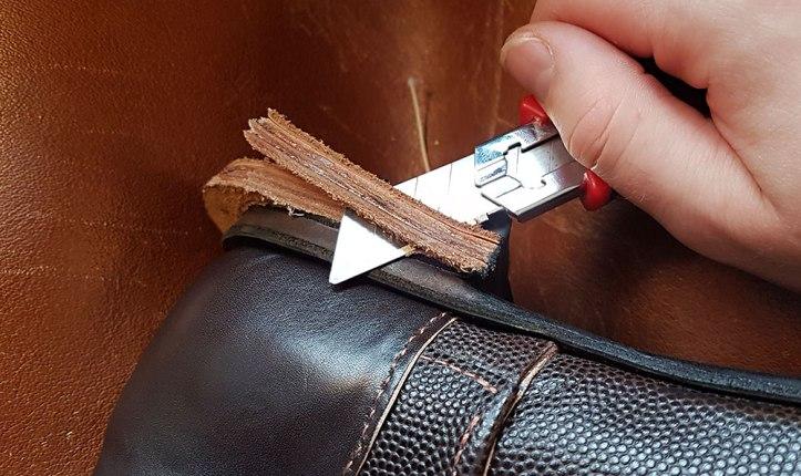 Trimming heel